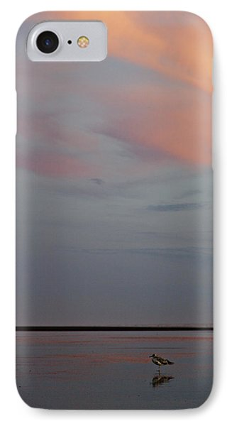 IPhone Case featuring the photograph Pink Sky And Sand by Kjirsten Collier