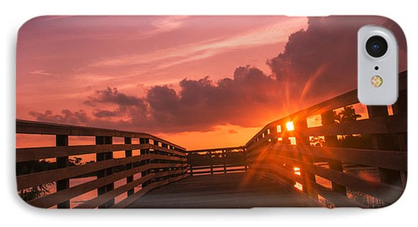 Pink Sky Sunset IPhone Case by Don Durfee