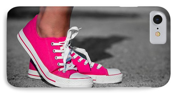 Pink Sneakers  IPhone Case