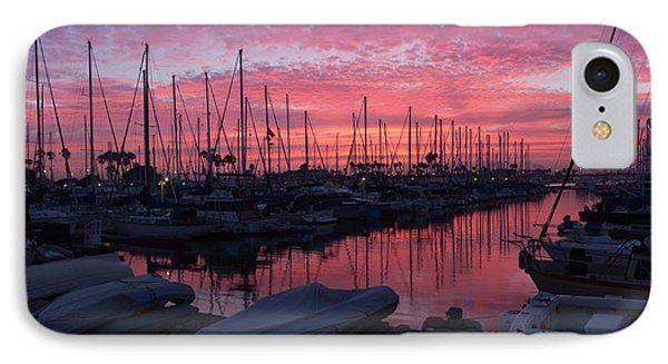 Pink Summer Sunset  IPhone Case