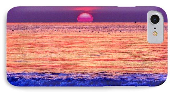 Pink Sun IPhone Case by Nina Ficur Feenan