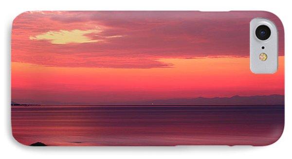 Pink Sunrise  Phone Case by Leyla Ismet