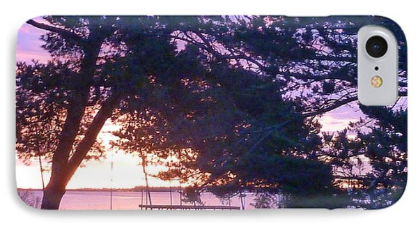 IPhone Case featuring the photograph Pink Sunrise by Rogerio Mariani