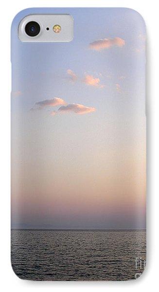 Pink Sunset Phone Case by Zoran Berdjan