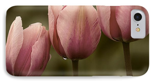Pink Trio IPhone Case by Sonya Lang