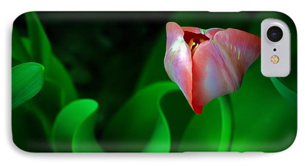 Pink Tulip Phone Case by Brian Wallace