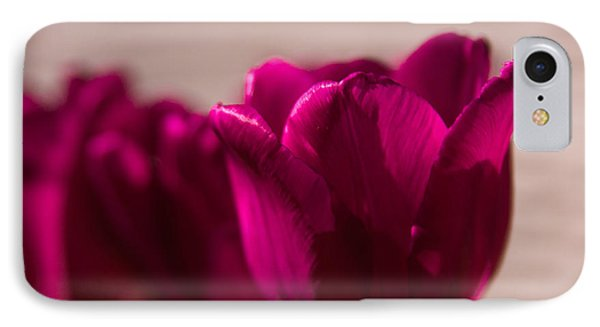 IPhone Case featuring the photograph Pink Tulip by Erin Kohlenberg