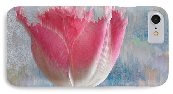 Pink Tulip IPhone Case by Mark Greenberg
