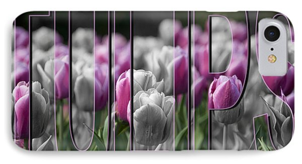Pink Tulips Phone Case by Trish Tritz