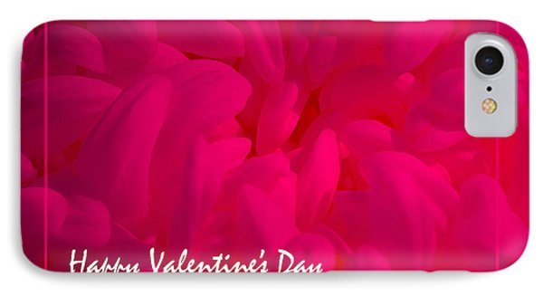 IPhone Case featuring the photograph Pink Valentine by Cheryl McClure