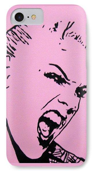 Pink Phone Case by Venus