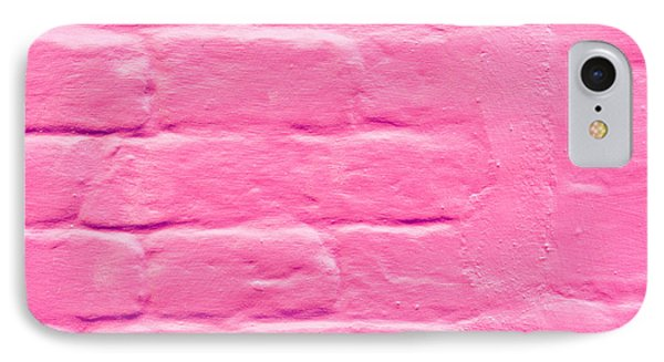 Pink Wall Phone Case by Tom Gowanlock