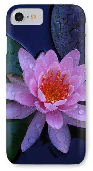 IPhone Case featuring the photograph Pink Waterlily by Raymond Salani III