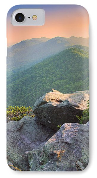 Pinnacle Rock IPhone Case by Mary Almond