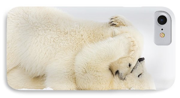 Pinned To The Snowy Mat IPhone Case by Tim Grams