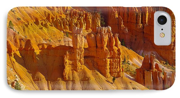 Pinnicles At Sunset Point Bryce Canyon National Park Phone Case by Jeff Swan