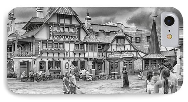 IPhone Case featuring the photograph Pinocchio's Village Haus by Howard Salmon