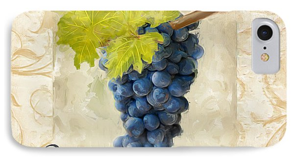 Pinot Noir IPhone Case by Lourry Legarde