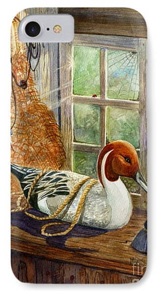 Pintail Duck Decoy IPhone Case by Marilyn Smith