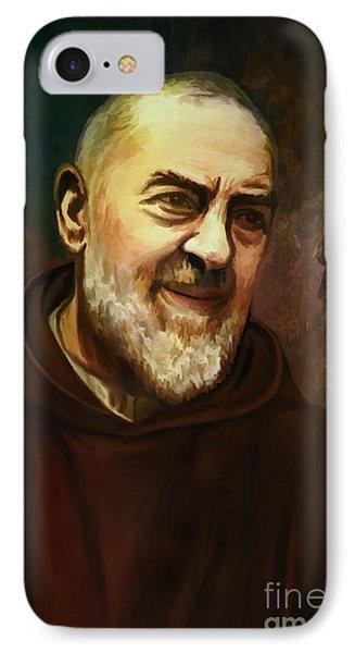 Pio Of Pietrelcina Phone Case by Andrzej Szczerski