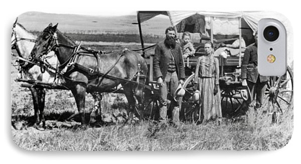 Pioneer Family And Wagon IPhone Case