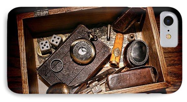 Pioneer Keepsake Box IPhone Case by Olivier Le Queinec