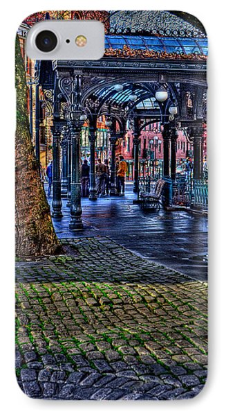 Pioneer Square In Seattle IPhone Case by David Patterson
