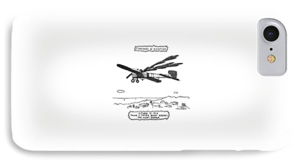 Pioneers Of Aviation October 21 IPhone Case by Michael Crawford