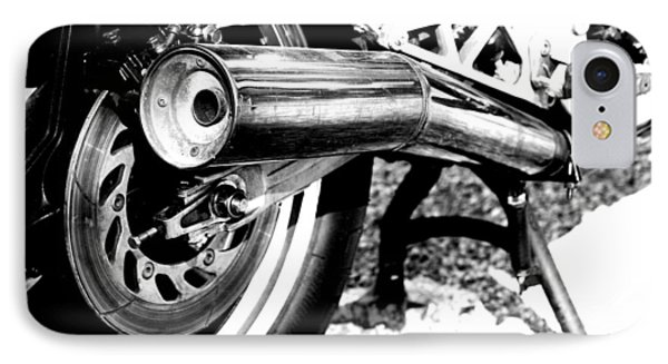 Pipe Black And White IPhone Case by David S Reynolds