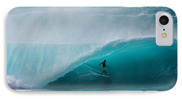 Pipeline Free Surf IPhone Case by Kevin Smith