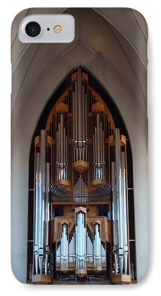 Pipe Organ IPhone Case by Kay Gilley