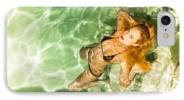 IPhone Case featuring the photograph Wet Piper Precious No73-5824 by Amyn Nasser