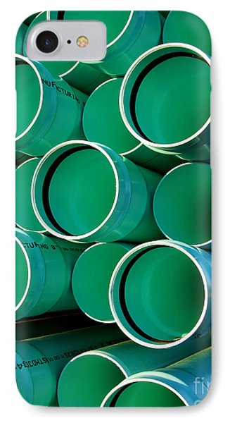 Pipes  IPhone Case by Olivier Le Queinec