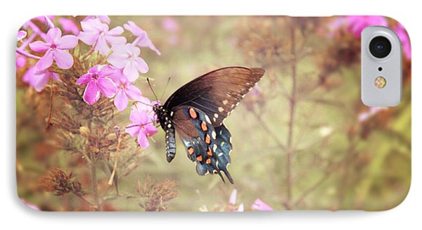 Pipevine Swallowtail Butterfly Phone Case by Lena Auxier