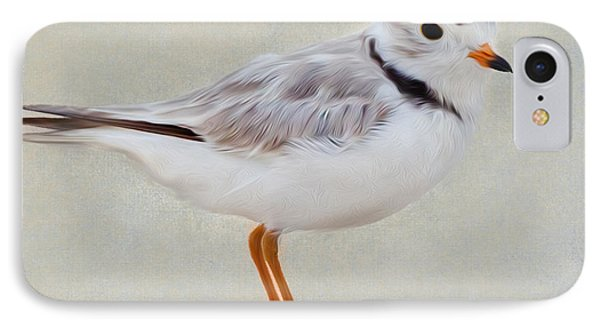 Piping Plover Square IPhone Case by Bill Wakeley