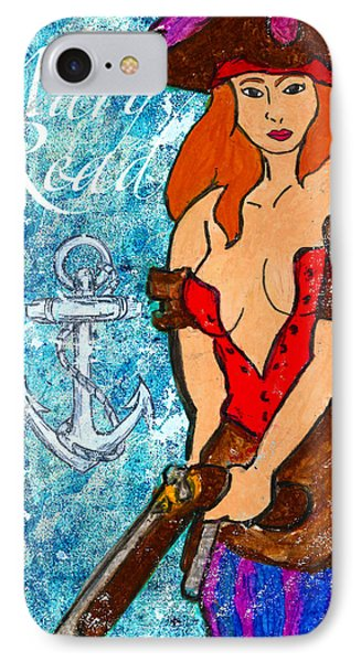 Pirate Mary Read Phone Case by William Depaula