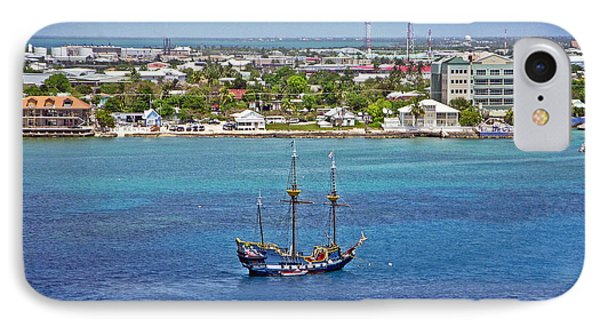 Pirate Ship In Cozumel Phone Case by Aimee L Maher Photography and Art Visit ALMGallerydotcom