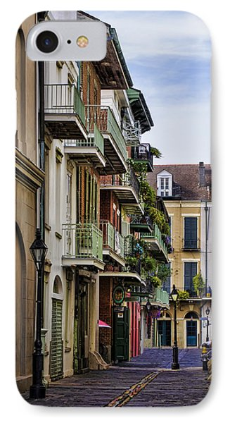 Pirates Alley IPhone Case by Heather Applegate