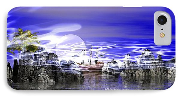 Pirates Cove IPhone Case by Jacqueline Lloyd