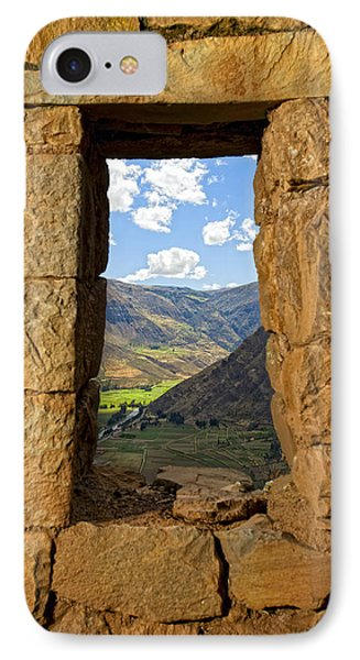 Pisac Ruins IPhone Case by Alexey Stiop