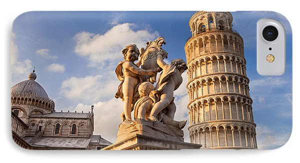 Pisa's Leaning Tower Phone Case by Brian Jannsen