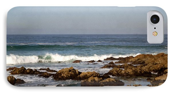 Pismo Beach Seascape Phone Case by Barbara Snyder