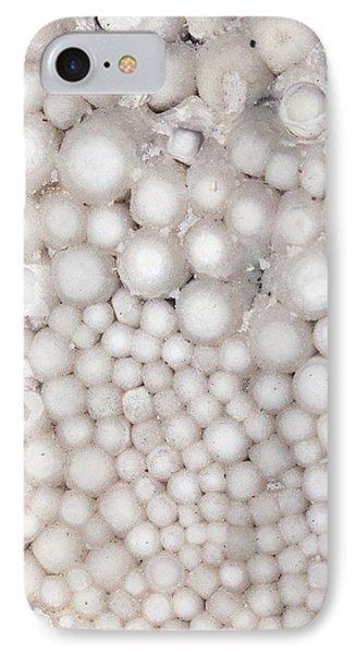 Pisolitic Calcium Carbonate IPhone Case by Dirk Wiersma
