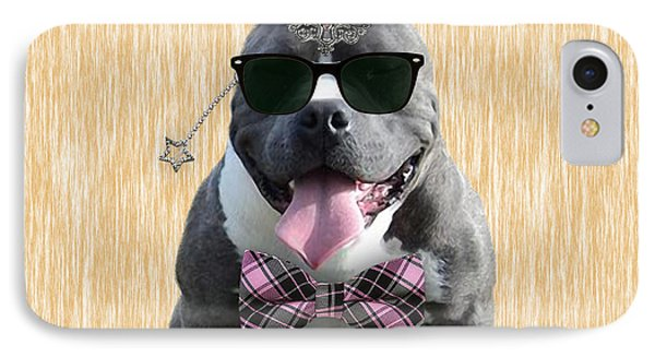 Pitbull Bowtie Collection IPhone 7 Case