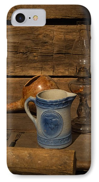 Pitcher Cup And Lamp Phone Case by Douglas Barnett
