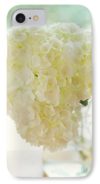 Pitcher Of Hydrangeas Phone Case by Kay Pickens