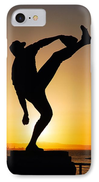 Pitching Form IPhone Case