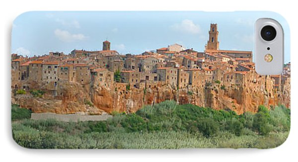 Pitigliano Panorama IPhone Case by Alan Socolik