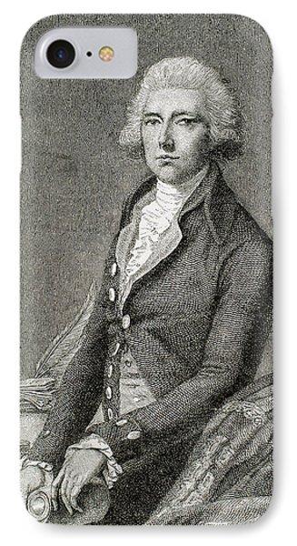 Pitt, William (london 1708-hayes, 1778 IPhone Case by Prisma Archivo