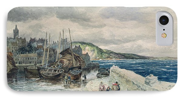 Pittenweem, Fife IPhone Case by Samuel Bough